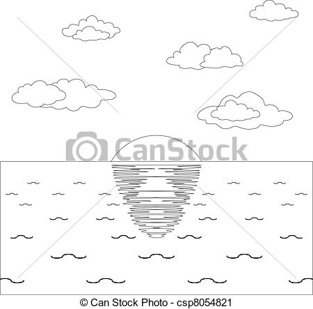 Natural sea clipart #7