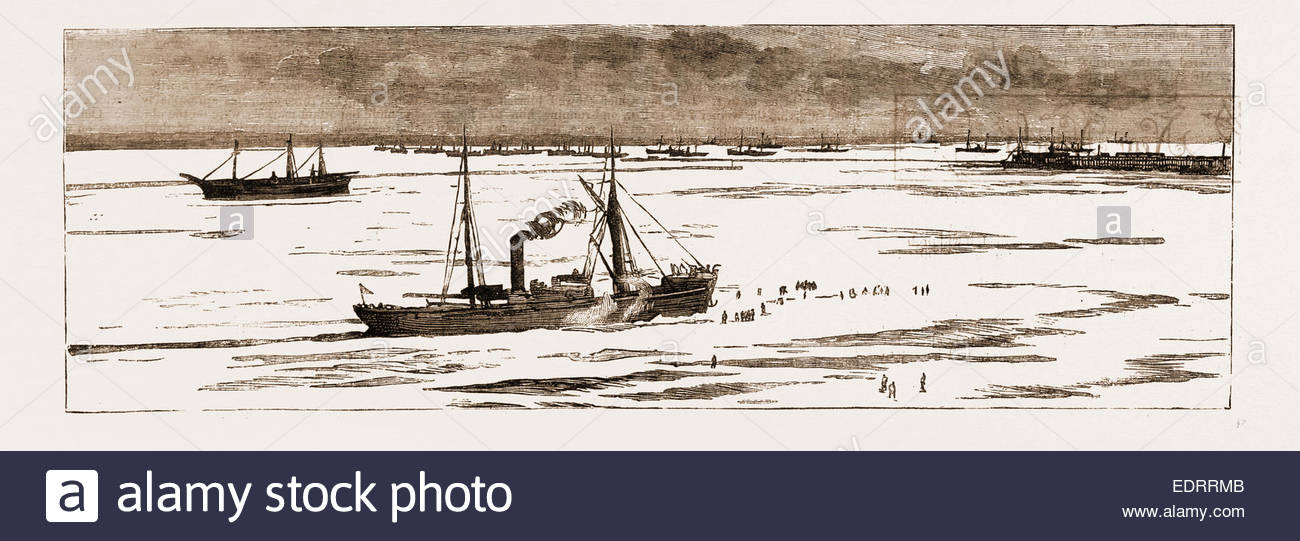 The Severe Winter In The Black Sea: The Port Of Odessa Blocked.