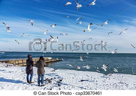 Stock Image of Odessa, Ukraine.