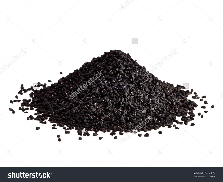 Black Seed Nigella Sativa Kalinji Seeds Stock Photo 177765872.
