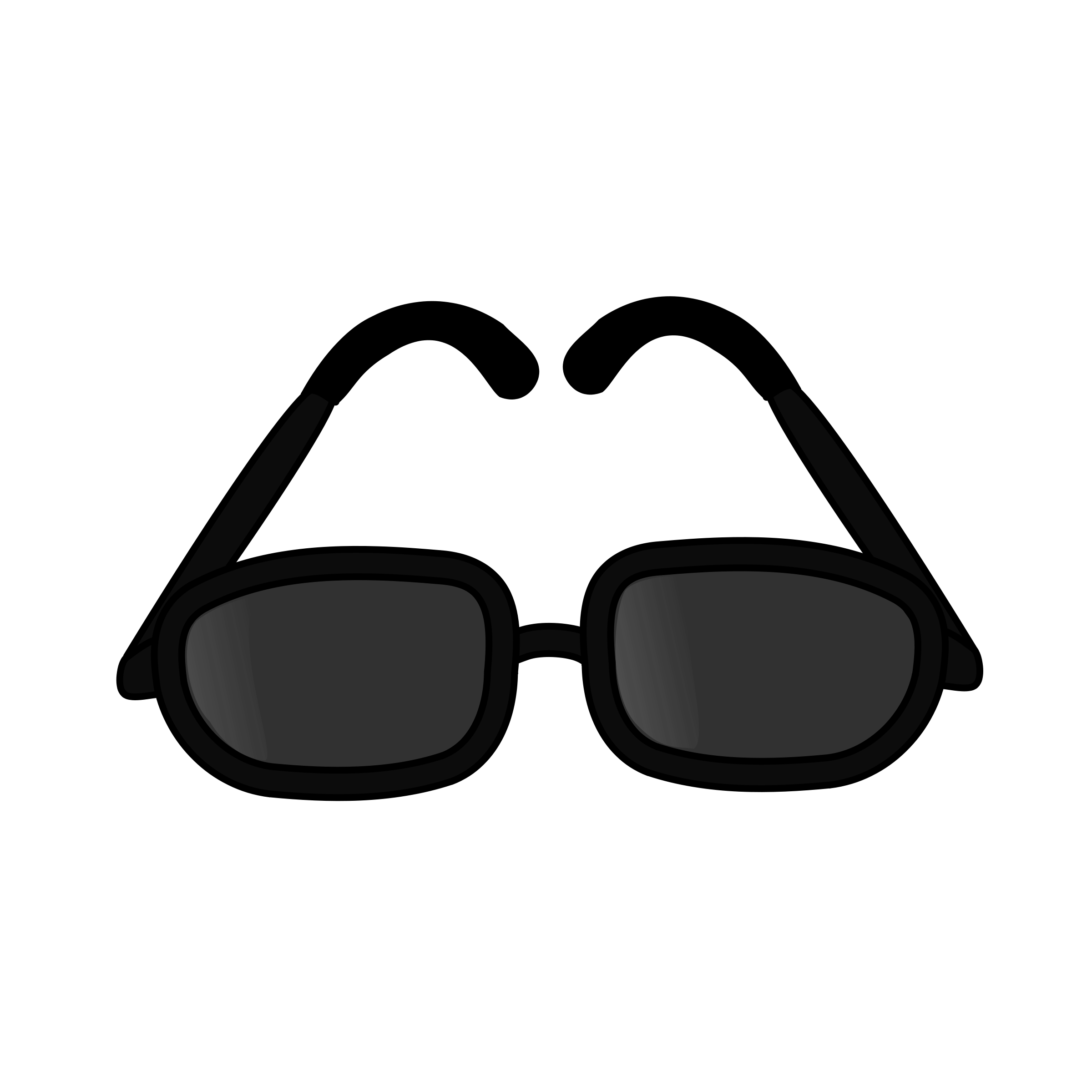 Black sunglasses clipart 2 » Clipart Station.