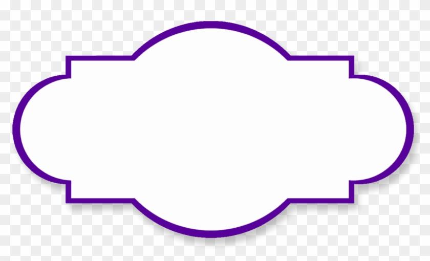 Purple Clipart Bracket.