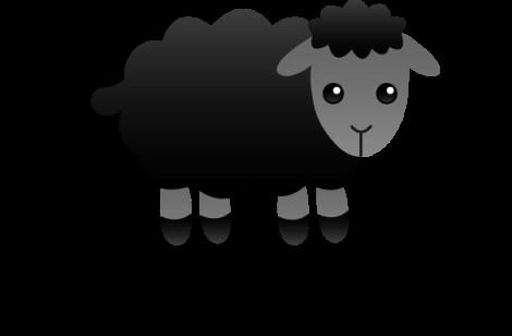 Black Sheep Clipart Free Download Clip Art.