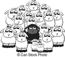 Black sheep Clip Art Vector Graphics. 2,881 Black sheep EPS.