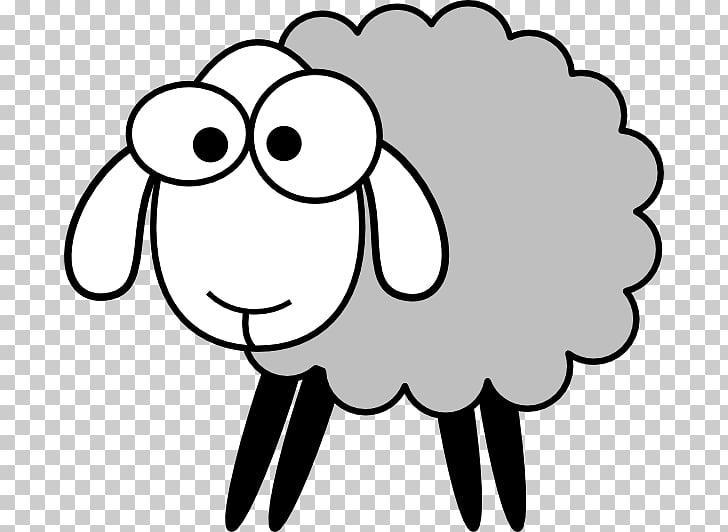 Black sheep Drawing , sheep PNG clipart.