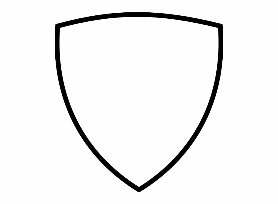 Thick Black Shield Clip Art At Clker Clipart Shield.