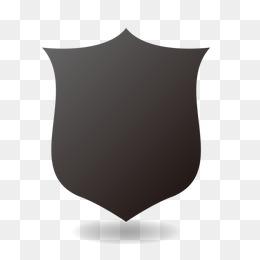 Black Shield PNG Images.