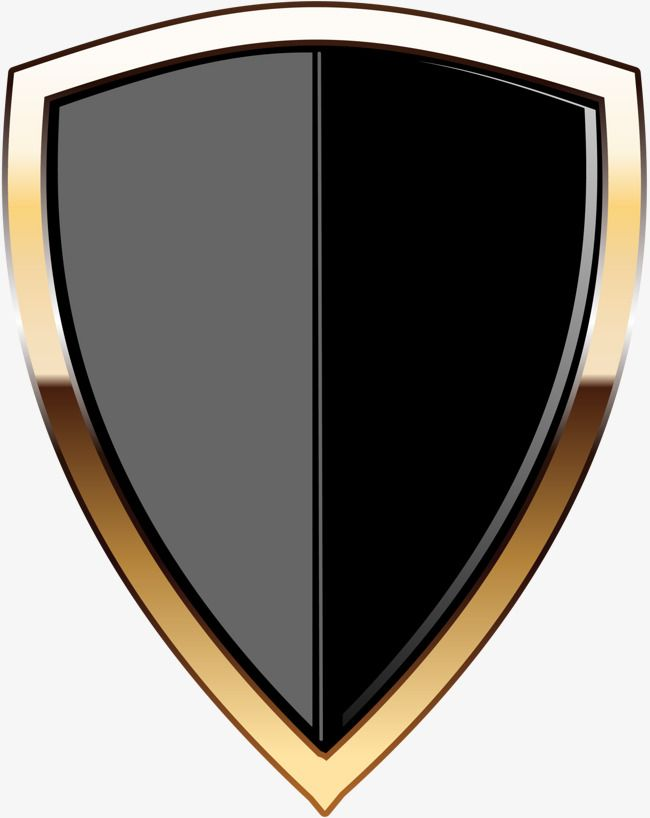 Black Shield Logo.