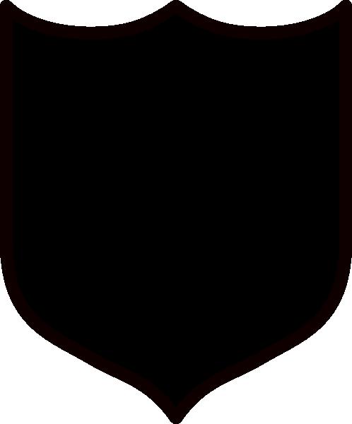 Black Shield Clip Art at Clker.com.
