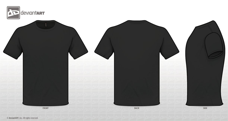 T Shirt Back Side Png.