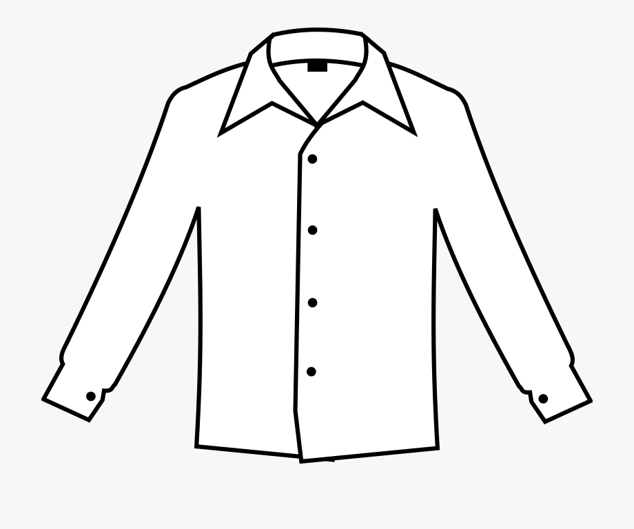 Drawn Shirt Pocket Clipart.