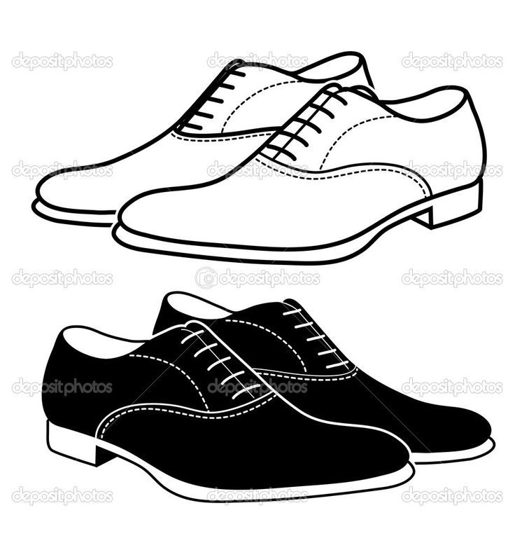 8706 Shoes free clipart.