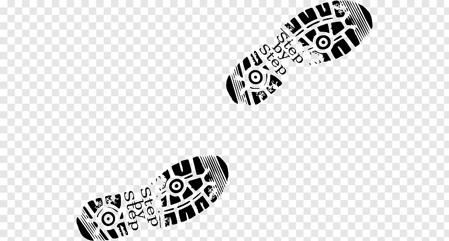 Footprints, Shoe Footprint Boot Sneakers, Walking Feet s.