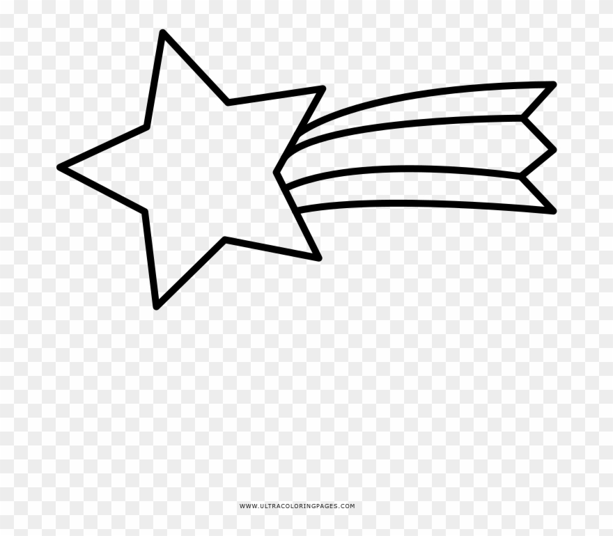 Shooting Star Coloring Pages.