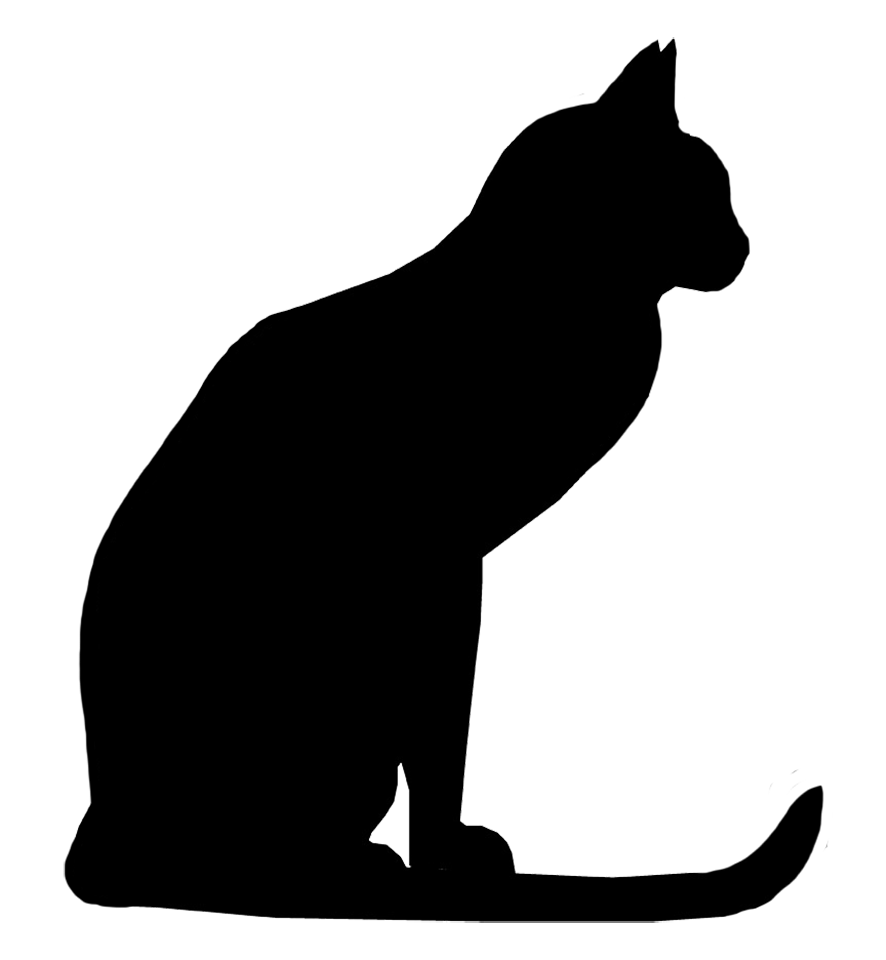 Clipart Of Cat Silhouette Clipground