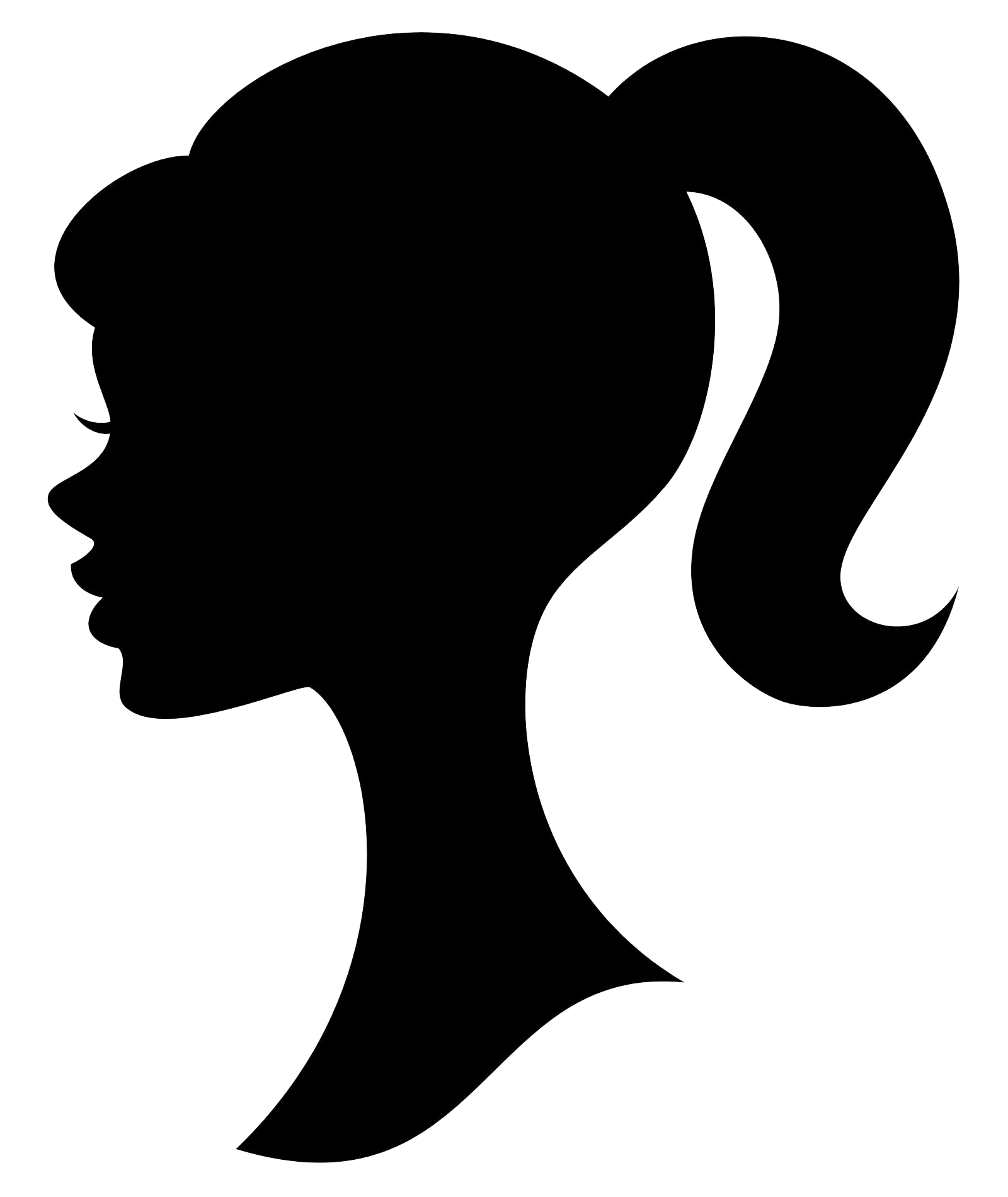 Black Silhouette Logo.