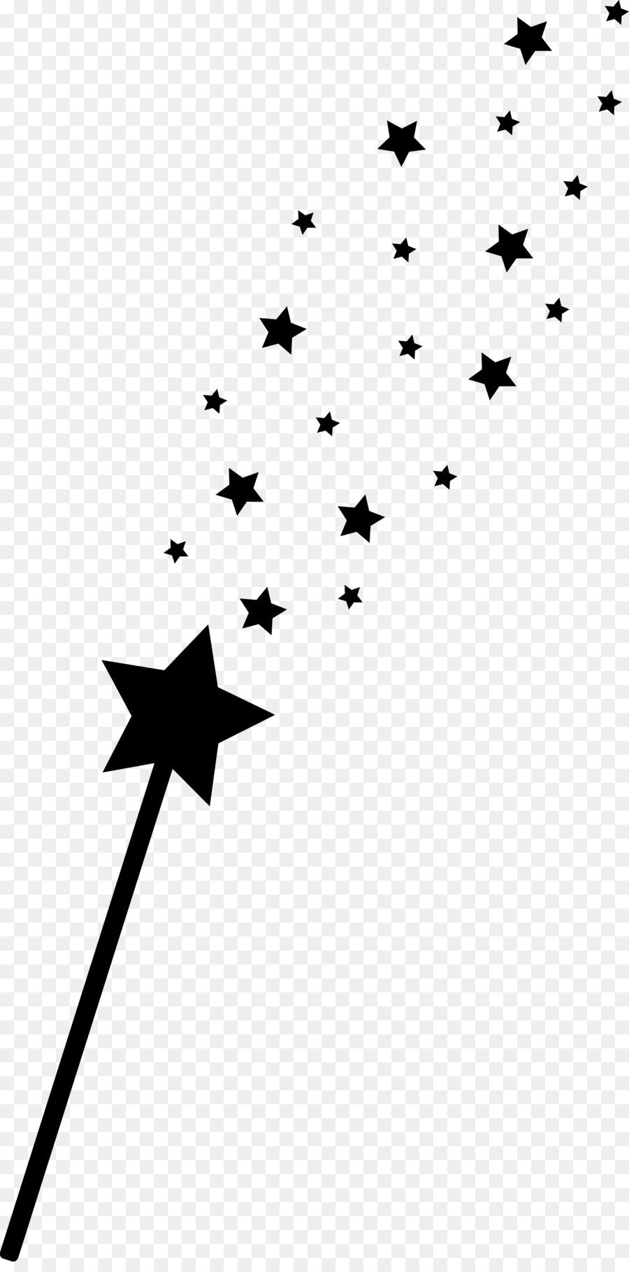 Magic Star Clipart.