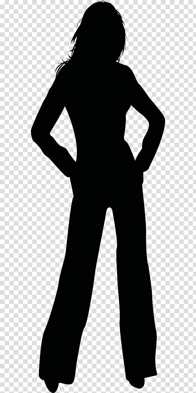 Silhouette Woman , female leg transparent background PNG.