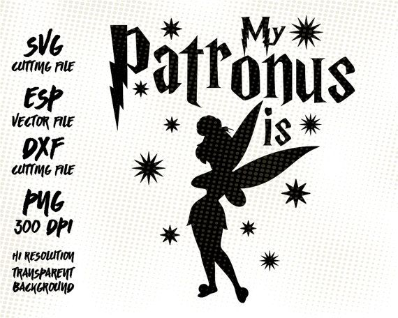 My Patronus is Tinkerbell Harry Potter Clipart Images.
