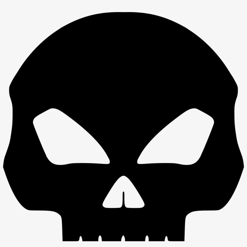 Skeleton Head Clipart Death Skull.