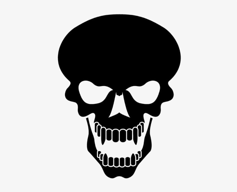 Black Skull Png Image Transparent.