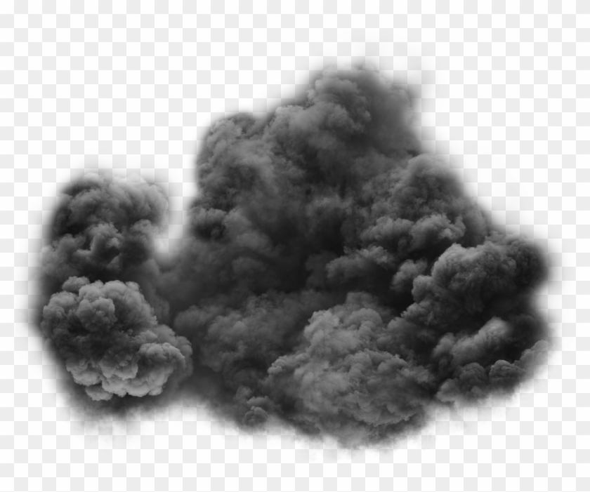 Black Smoke Png Transparent Clip Free Download, Png Download.