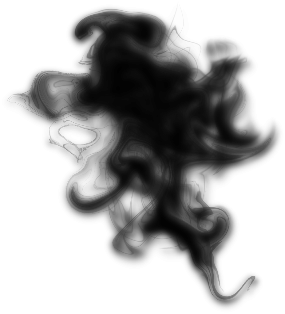 10 Black Smoke (PNG Transparent).