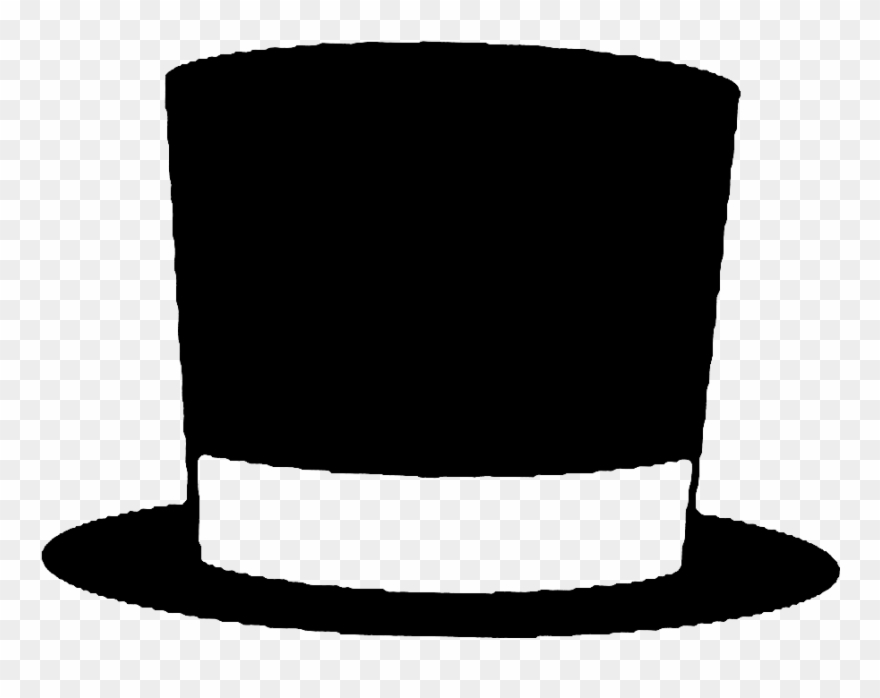 Top Hat Clipart Classic.