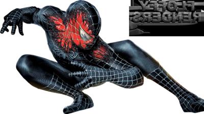 Download Free png Spiderman Black PNG Transparent Image.