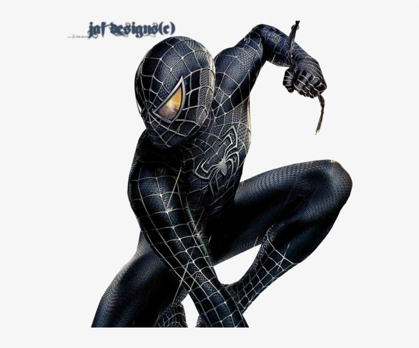 Black Spiderman.