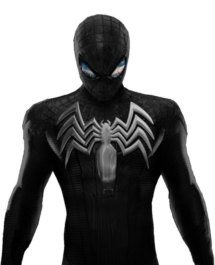 Black Spiderman Png Vector, Clipart, PSD.