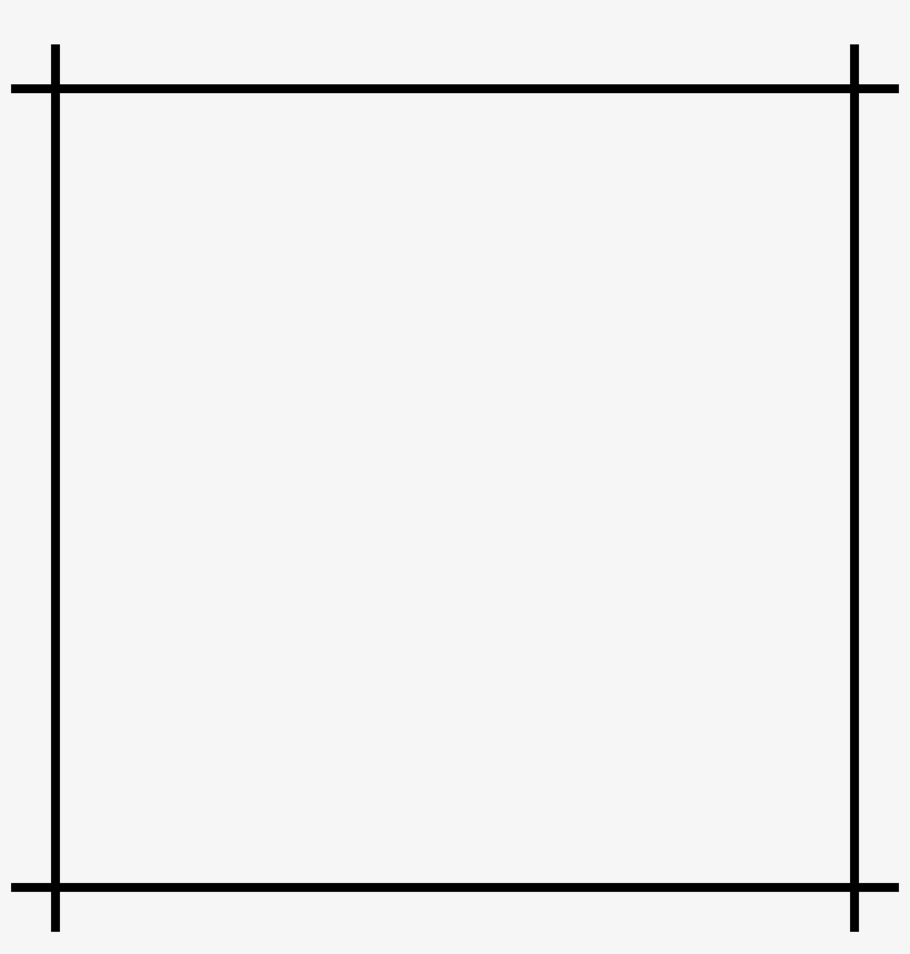 White Square Png Picture Transparent.