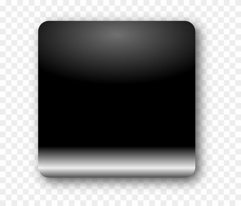 Black Square Icon Buttons.