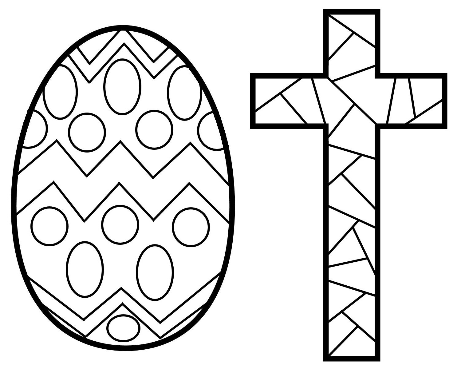 Stained glass christmas to color black and white clipart.