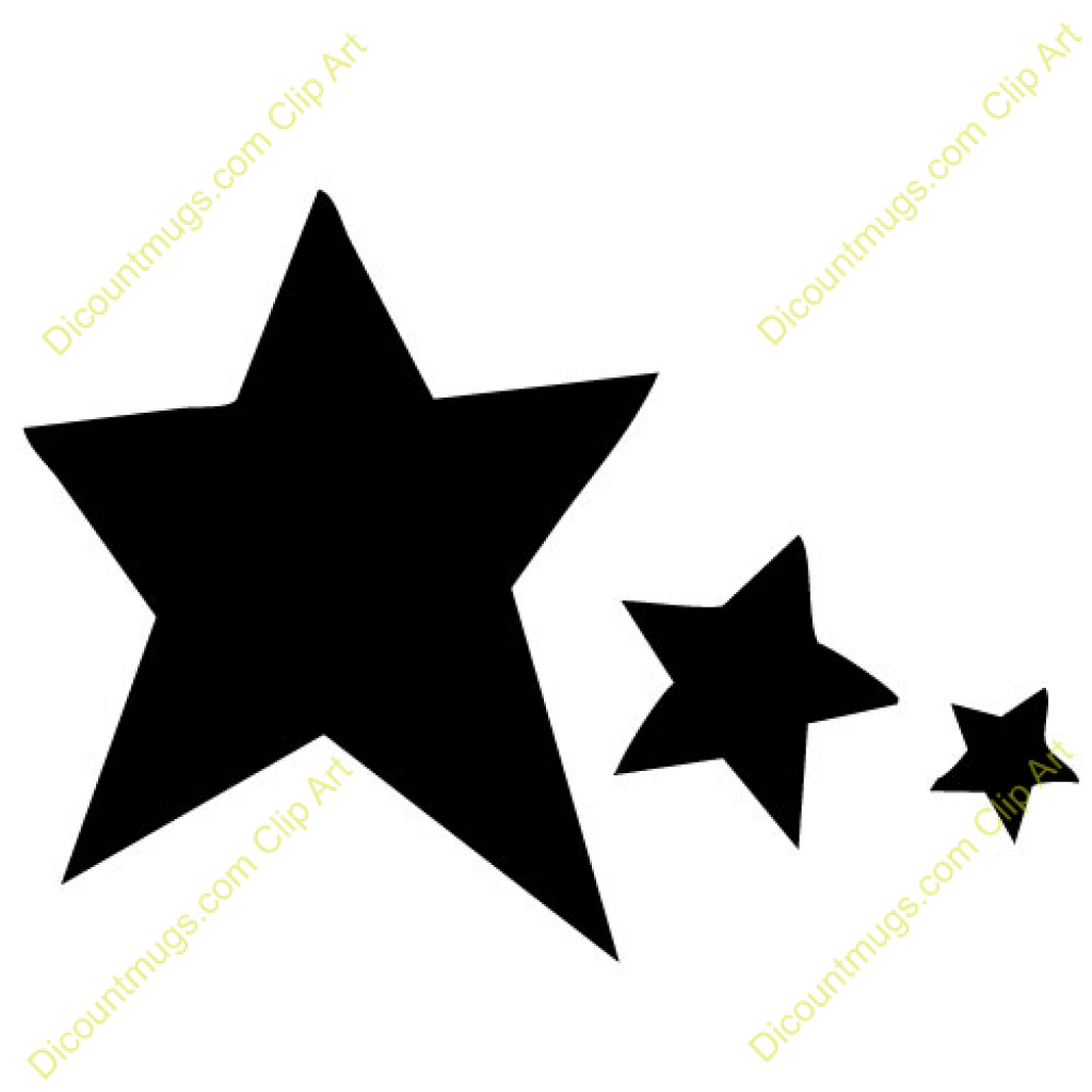 Solid black star clipart 3 » Clipart Portal.