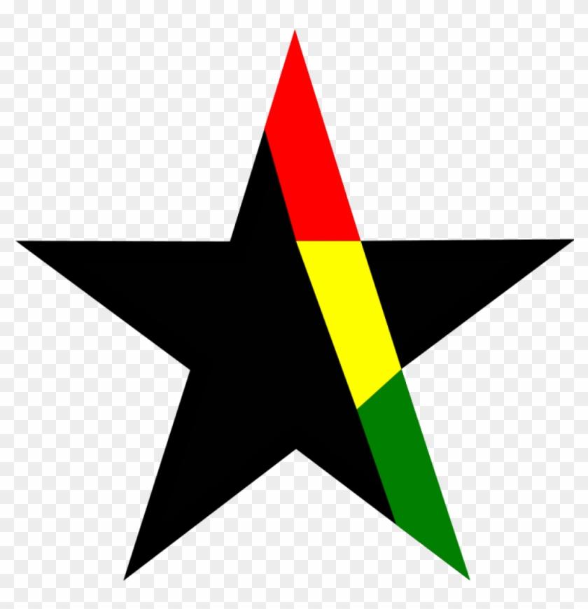 Black Star Clip Art Free Clipart Black Star Ghana Openclipartr.