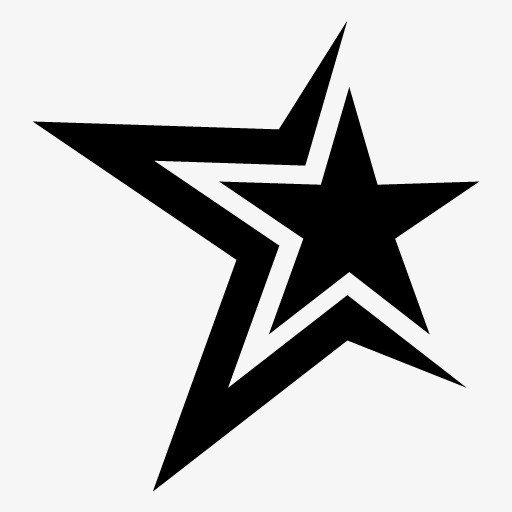 Black Star Clipart PNG Image And For Free Detail Clip Art.