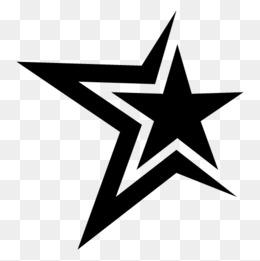 Black Star Png, Vectors, PSD, And Clipar #138320.