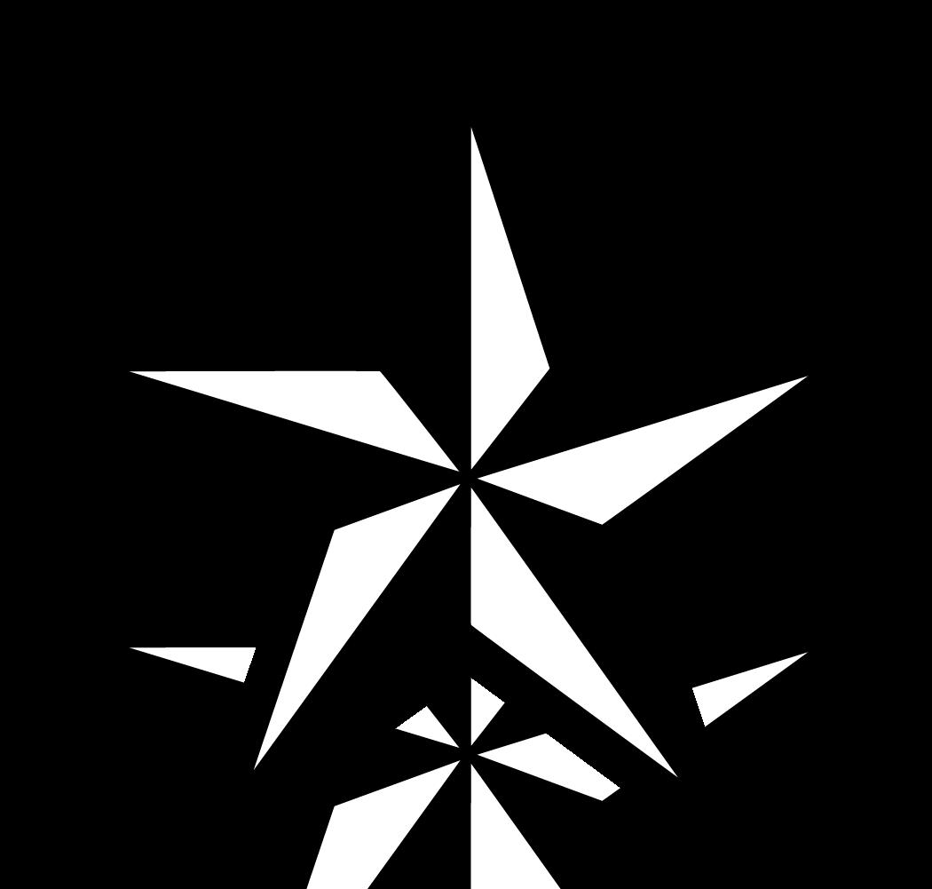 Black Star PNG Image.