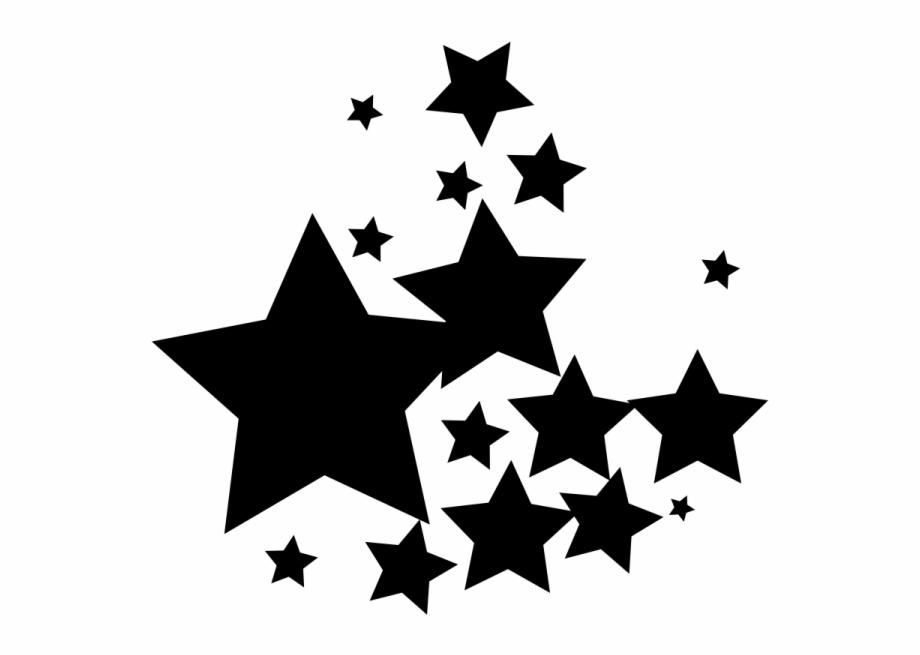 Group Black Star Png.