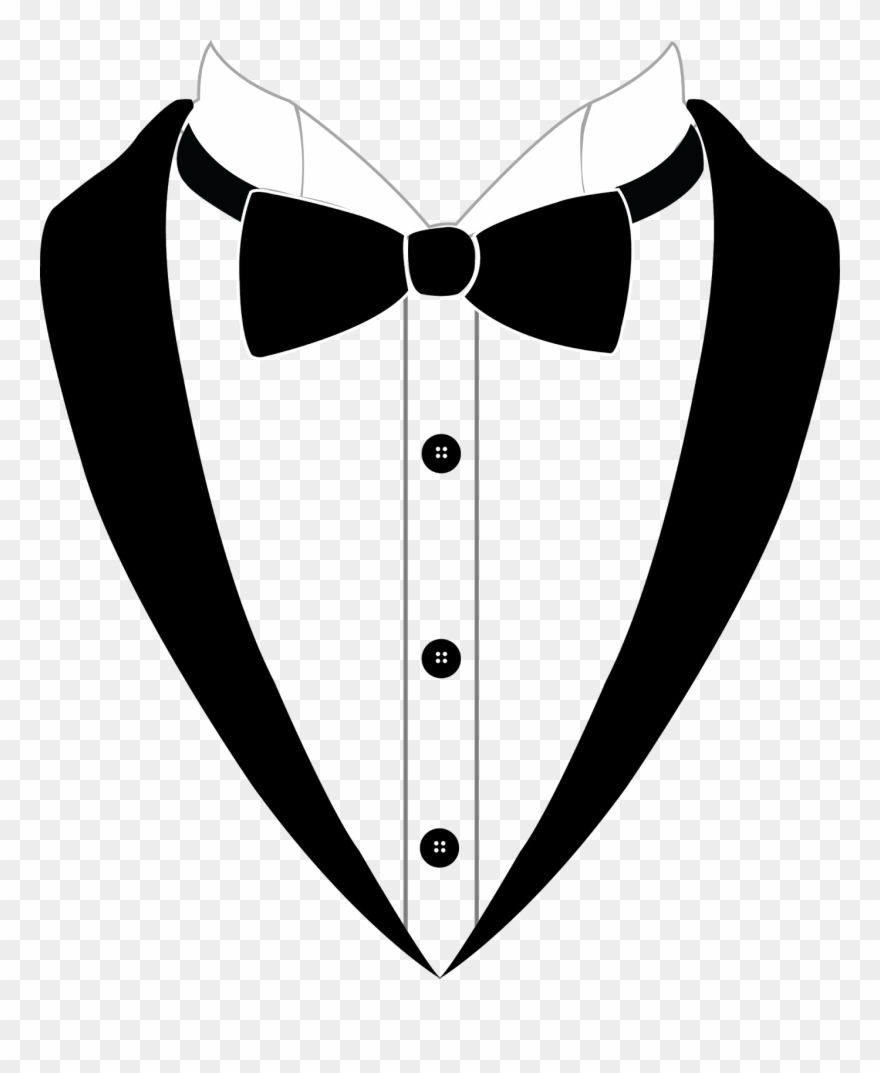 Banner Transparent Download Collar Drawing Tuxedo.