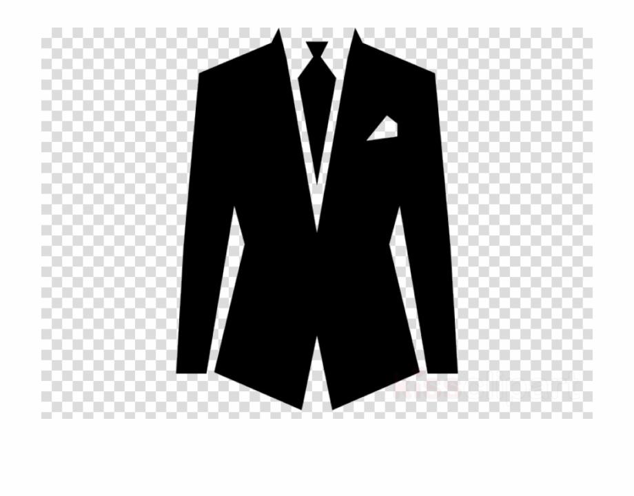 Black Suit Png Clipart Suit Necktie , Png Download.