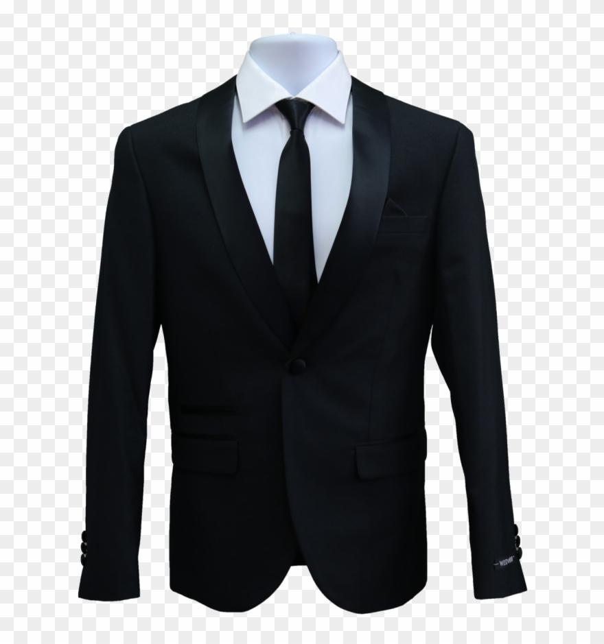 Black Suit Png Transparent Image.
