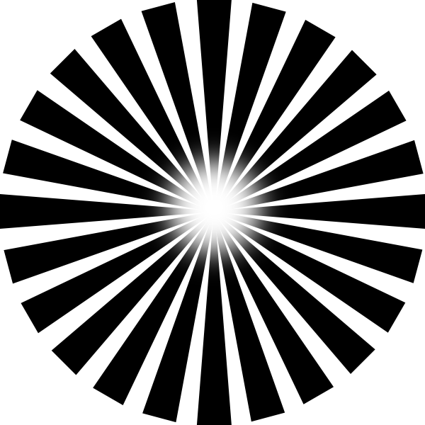 Sun Ray PNG Black And White Transparent Sun Ray Black And White.PNG.