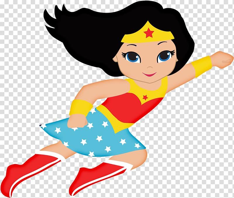 Wonder Woman cartoon character illustration, Diana Prince.