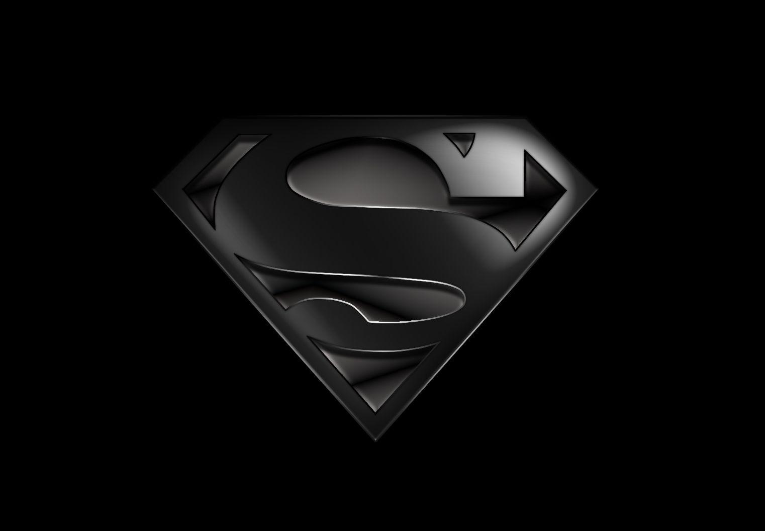 Black Superman Wallpaper.