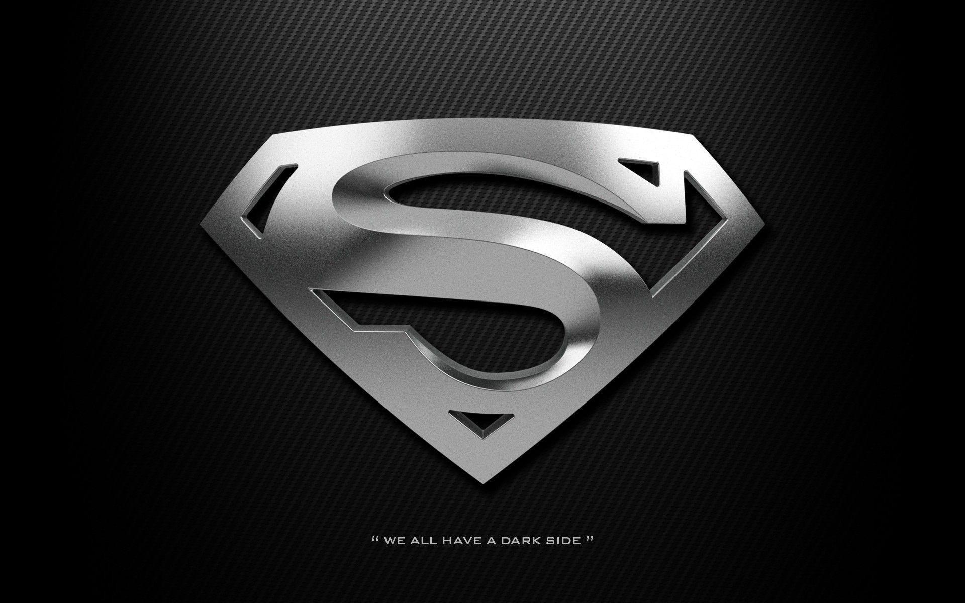 Black Superman Logo Wallpaper (68+ images).