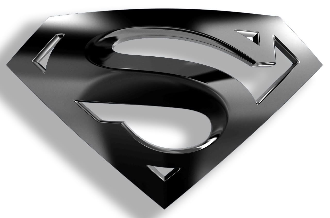 Image for Superman Logo Black And White Wallpapers HD.