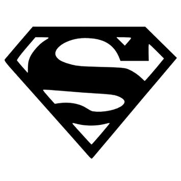 Platinum Place Superman Logo.