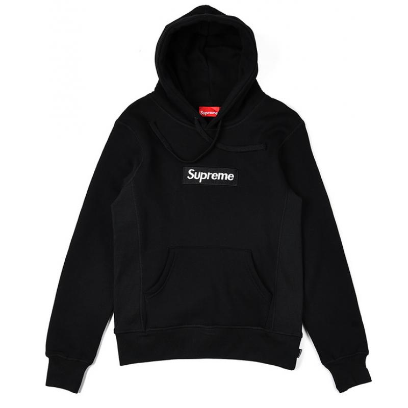 Supreme Box Logo Hoodie (Black).